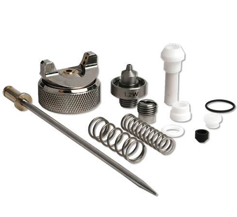 Spray gun spare parts and accessories
