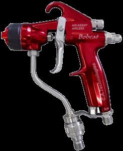 ca technologies bobcat handheld air assisted airless spray gun