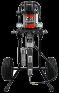 CA Technologies Air Assist Airless 20:1 Fine Finish Pump