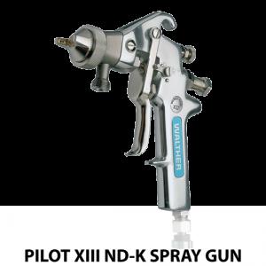 walther pilot xiii ndk water based adhesive heavy duty handheld spray gun