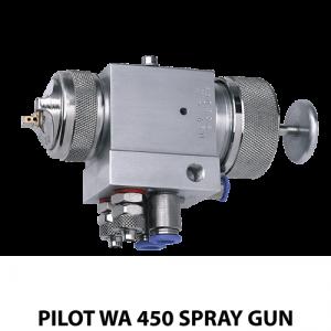 walther pilot wa 450 series robotic mount automatic spray gun adapter plate