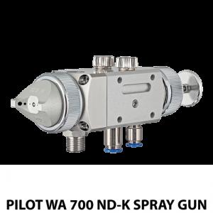 walther pilot 700 ndk water based adhesive automatic spray gun