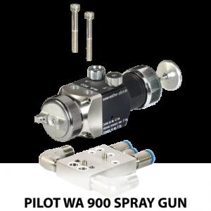 walther pilot wa 900 series robotic mount automatic spray gun adapter plate
