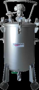 ca technologies 12.5 gallon stainless steel pressure tank