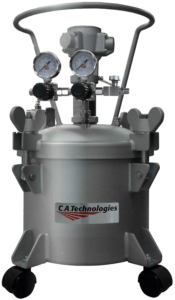 ca technologies 2.5 gallon stainless steel pressure tank
