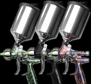 CA Technologies CAT X RP HVLP Manual Spray Gun HVLP Spray Systems