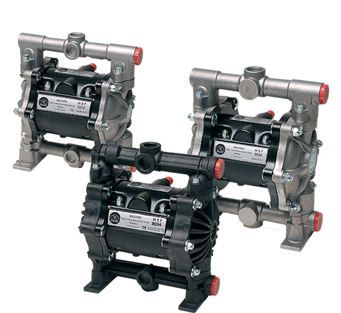 Wagner Diaphragm Pumps and High Pressure Airless Pumps
