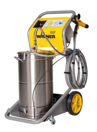 wagner spring 60L manual powder coating system