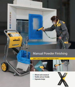 wagner manual powder coating systems