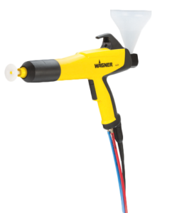 wagner PEM X1 CG powder coating cup gun