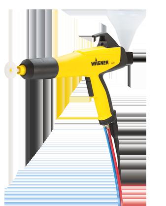 wagner PEM X1 CG powder coating cup gun