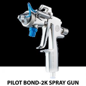 walther pilot bond 2k dual component handheld adhesive spray gun