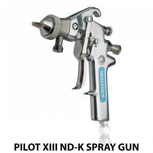 walther pilot xiii ndk water based adhesive heavy duty handheld spray gun